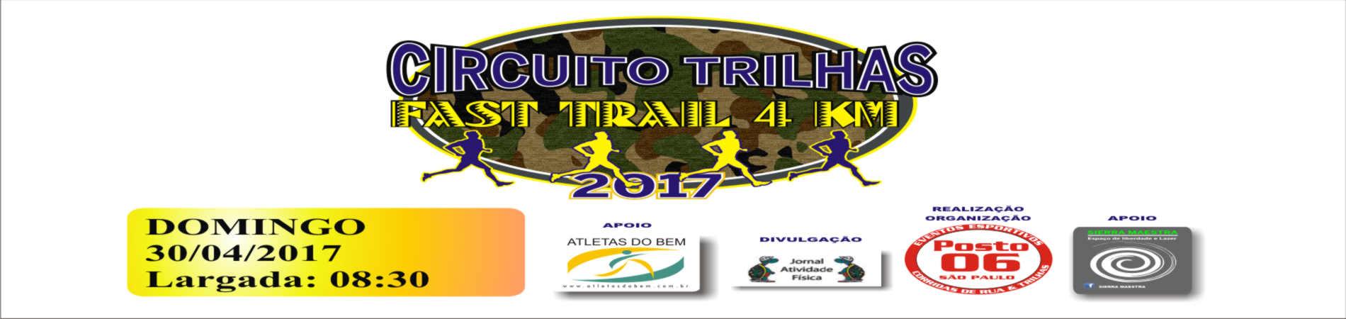 CIRCUITO TRILHAS FAST TRAIL 2017 - Imagem de topo