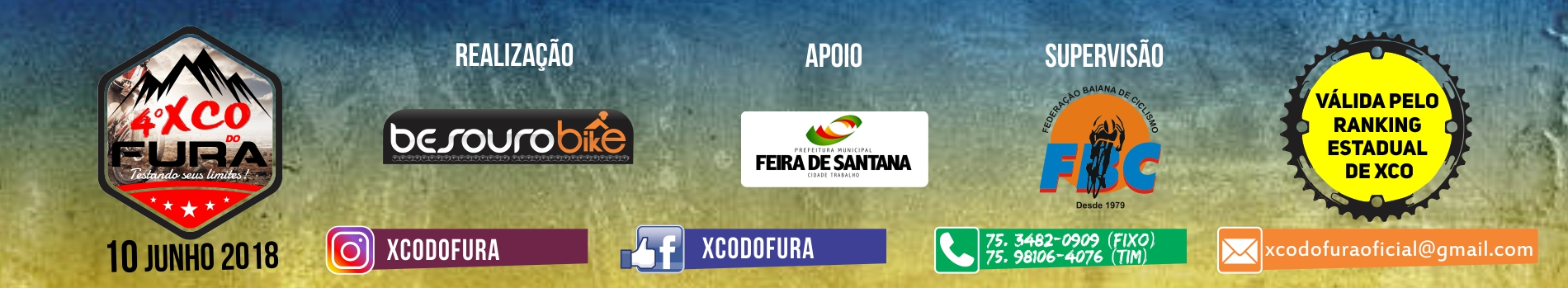 4° XCO DO FURA - Imagem de topo