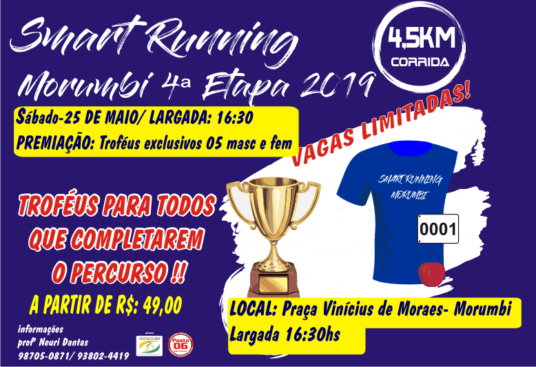 SMART RUNNING MORUMBI 4ª ETAPA-2019