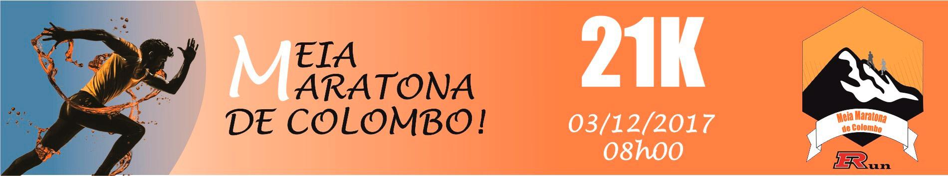 MEIA MARATONA DE COLOMBO - 2017 - Imagem de topo