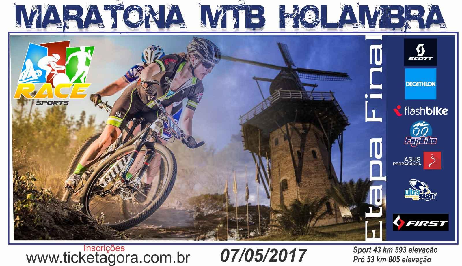 MARATONA RACE SPORTS MTB BIKE HOLAMBRA - Imagem de topo