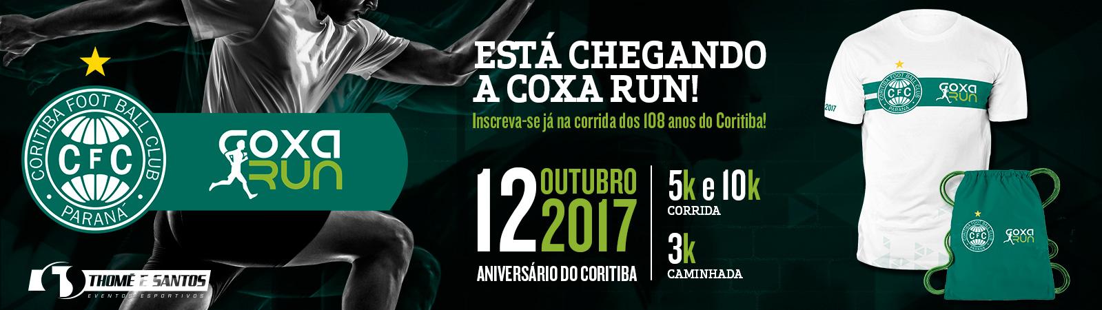 CORRIDA DO CORITIBA FOOTBALL CLUB - Imagem de topo