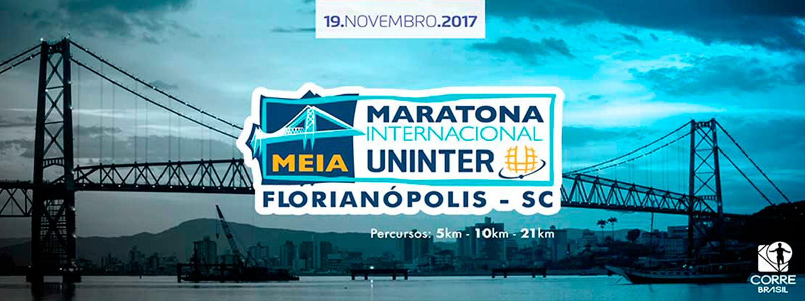 MEIA MARATONA INTERNACIONAL UNINTER DE FLORIANÓPOLIS - 2017 - Imagem de topo
