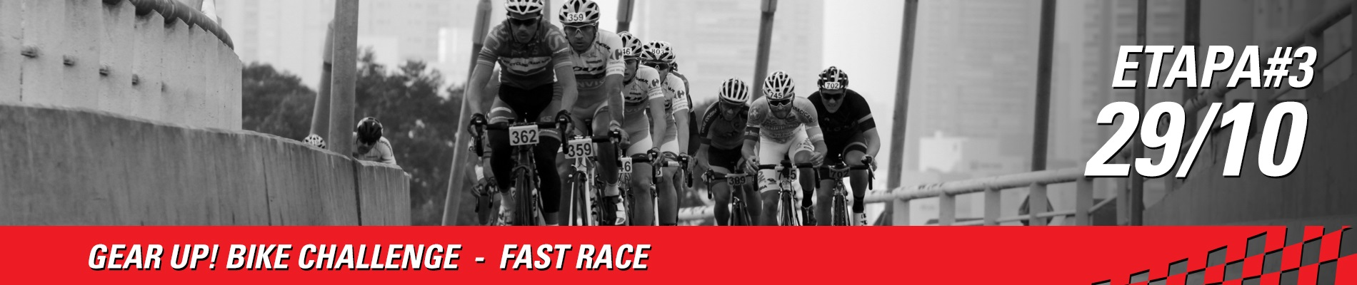 GEAR UP! BIKE CHALLENGE - FAST RACE ETAPA 3 - Imagem de topo