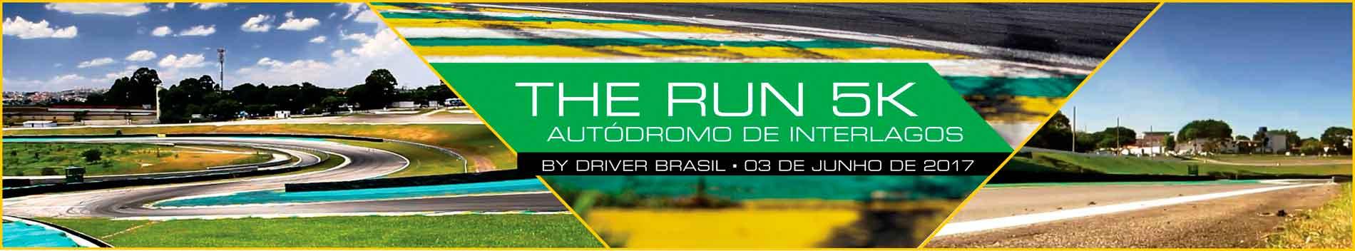 THE RUN 5K - AUTÓDROMO DE INTERLAGOS - Imagem de topo