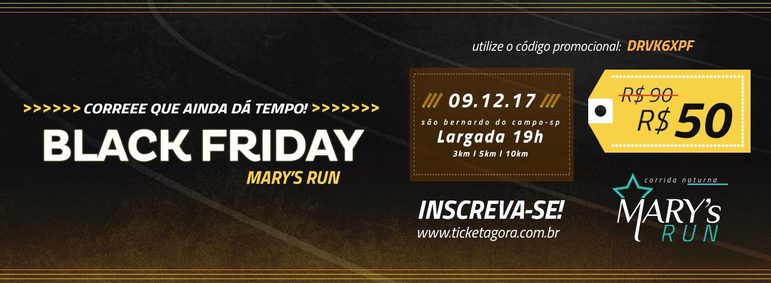 CORRIDA NOTURNA - MARY'S RUN - Imagem de topo