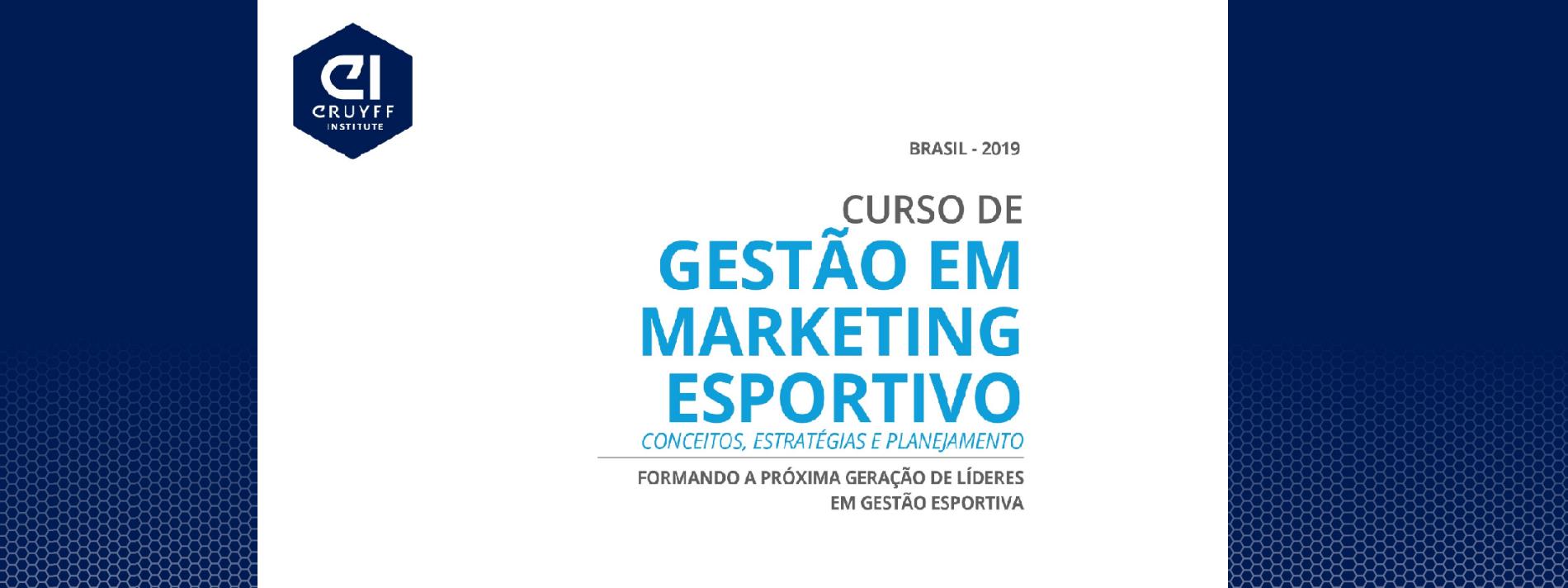 Gestão em Marketing Esportivo - Conceitos, Estratégias e Planejamento