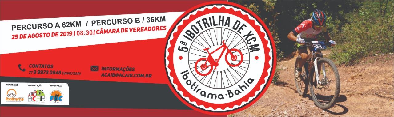 5ª IBOTRILHA DE XCM