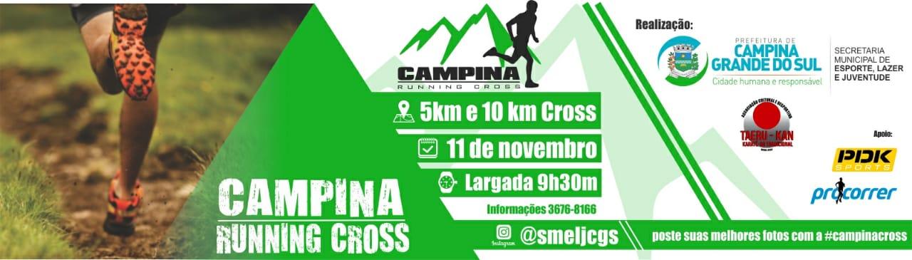 2° Corrida - Campina Running Cross - Imagem de topo