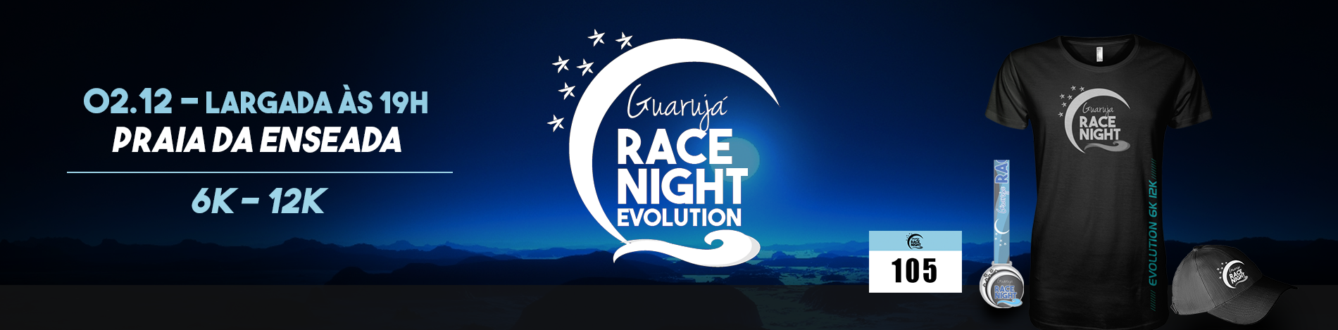 GUARUJÁ RACE NIGHT EVOLUTION 2017 - Imagem de topo