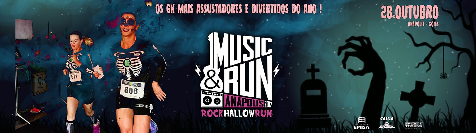 MUSIC & RUN - ANÁPOLIS - 2017