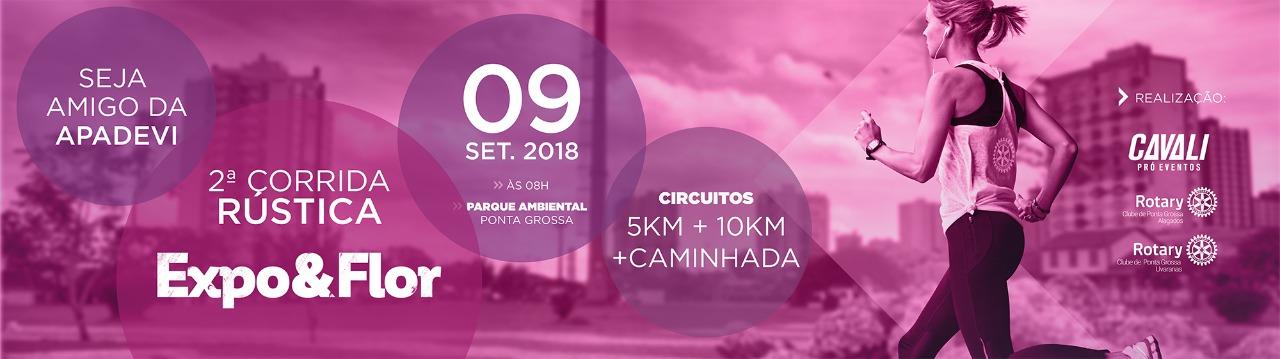 2ª CORRIDA RÚSTICA EXPOFLOR 2018 - Imagem de topo