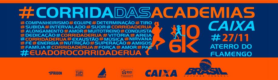 CORRIDA DAS ACADEMIAS CAIXA - 2016 - Imagem de topo