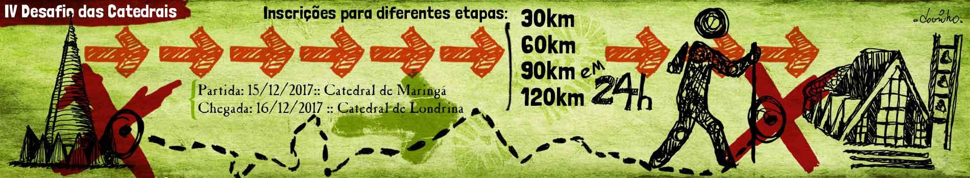 IV DESAFIO DAS CATEDRAIS - Imagem de topo