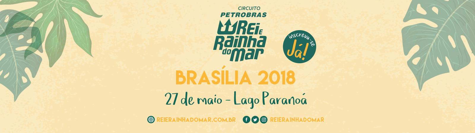 CIRCUITO PETROBRAS REI E RAINHA DO MAR - ETAPA Brasília - Imagem de topo