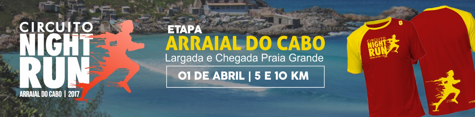 Circuito Night Run : Circuito night run lagos arraial do cabo