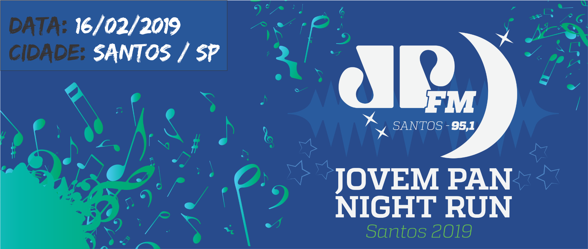 JOVEM PAN NIGHT RUN SANTOS 2019