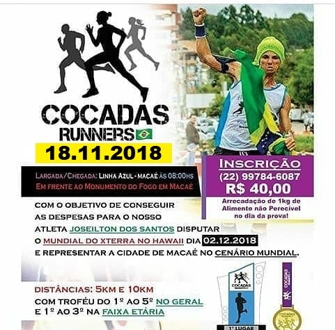 1ª CORRIDA COCADAS RUNNERS