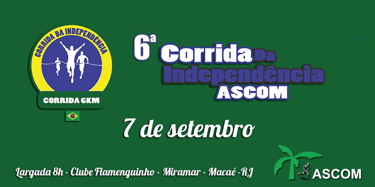 6ª CORRIDA DA INDEPENDÊNCIA - Imagem de topo