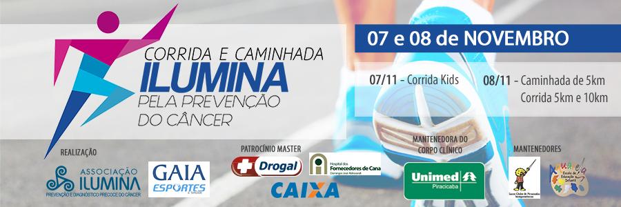 8ª CORRIDA E CAMINHADA ILUMINA - Imagem de topo