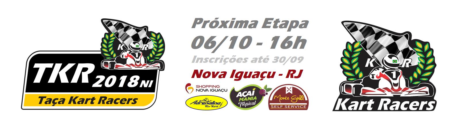 TAÇA KART RACERS 2018 Nova Iguaçu - TKR2018NI - Ver calendário