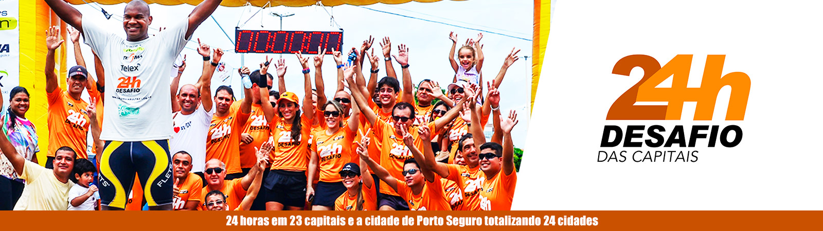 DESAFIO 24 HORAS DAS CAPITAIS - ETAPA CAMPO GRANDE/MS - Imagem de topo