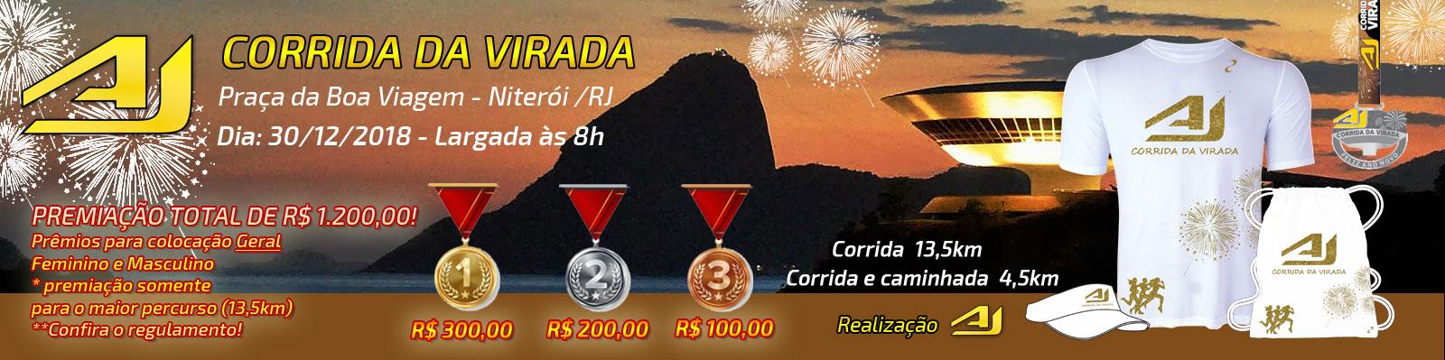 AJ CORRIDA DA VIRADA 1º EDIÇÃO - NITERÓI RJ - Imagem de topo