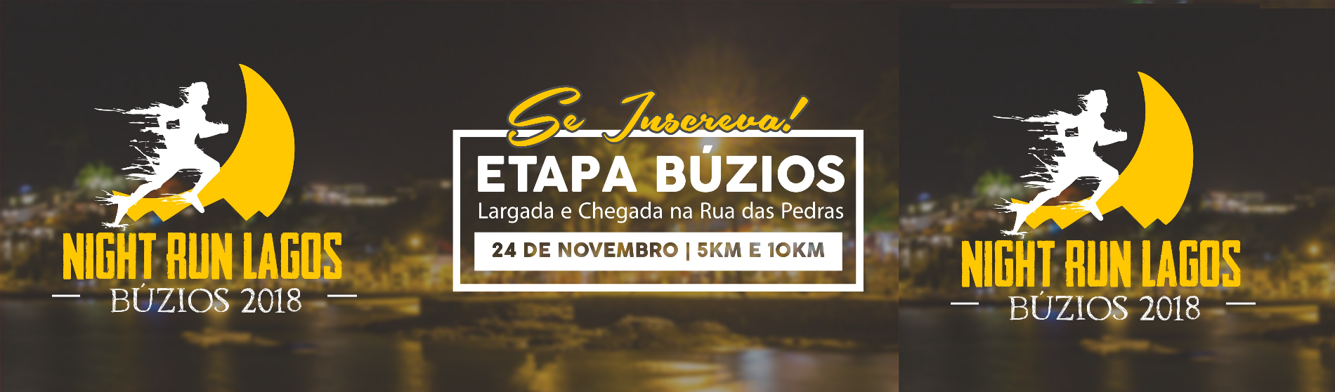 CIRCUITO NIGHT RUN LAGOS - ETAPA BÚZIOS 2018