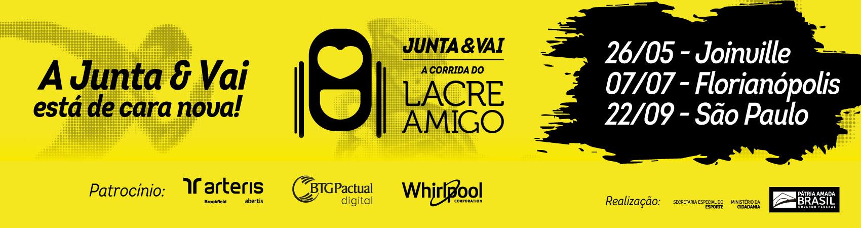 Junta e Vai - A Corrida do Lacre Amigo - Etapa Joinville