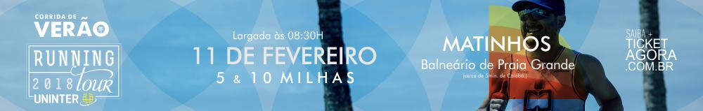 RUNNING TOUR UNINTER 2018 - CORRIDA DE VERÃO - Imagem de topo