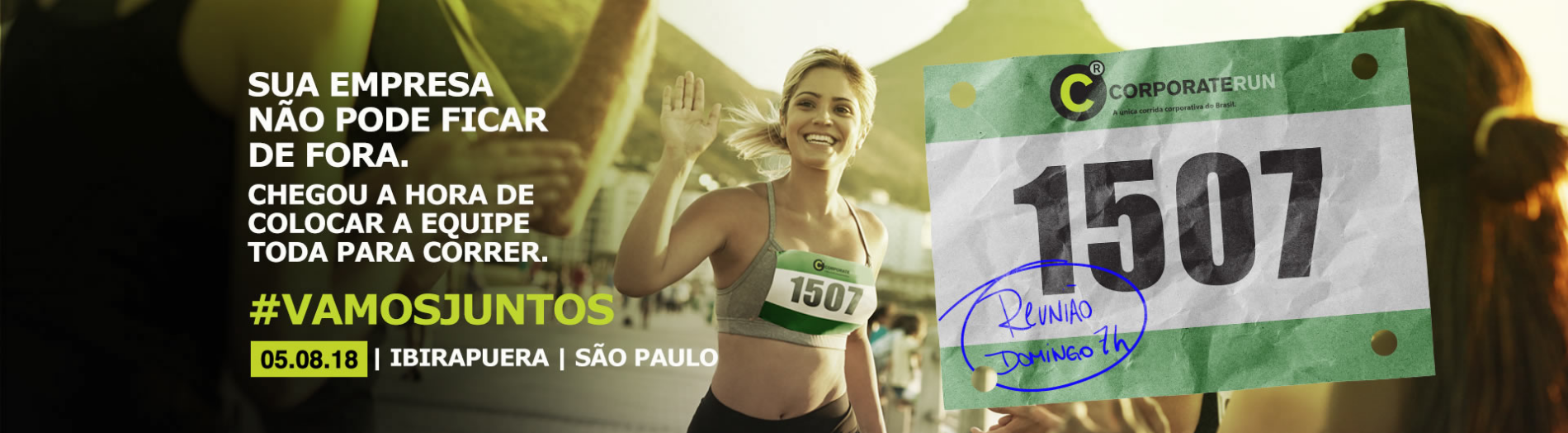 CORPORATE RUN 2018 - SÃO PAULO