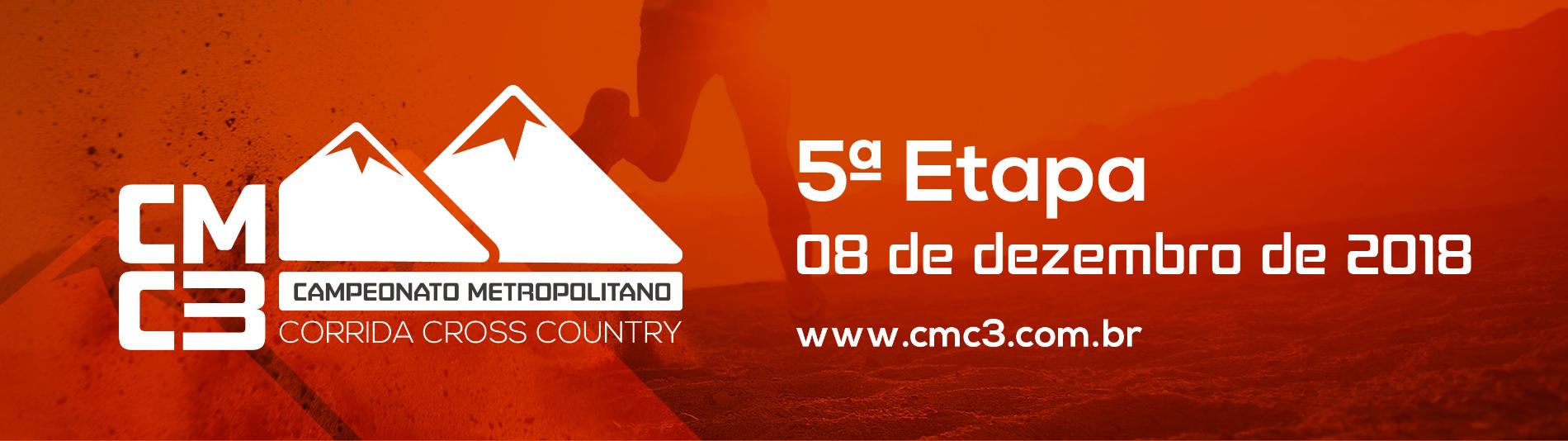 CMC3 - CAMPEONATO METROPOLITANO DE CORRIDA CROSS COUNTRY - 5ª ETAPA FINAL