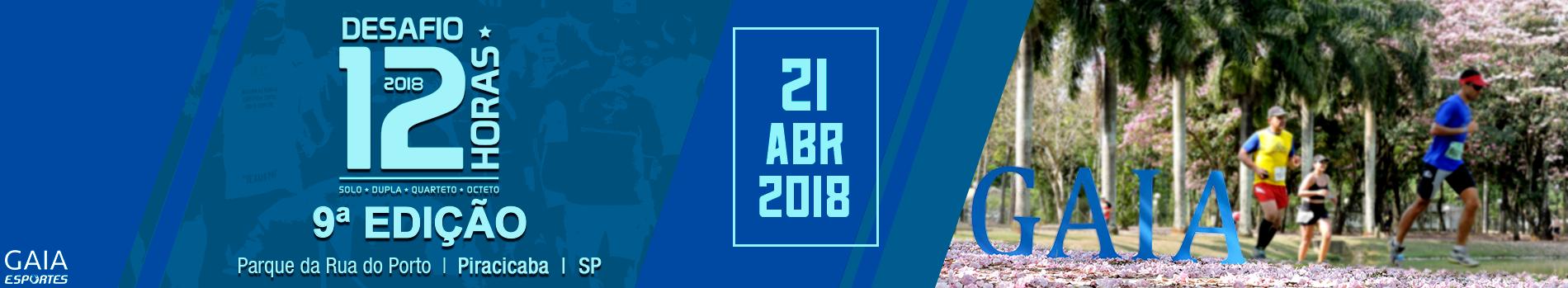 DESAFIO 12 HORAS  - 2018 - Imagem de topo