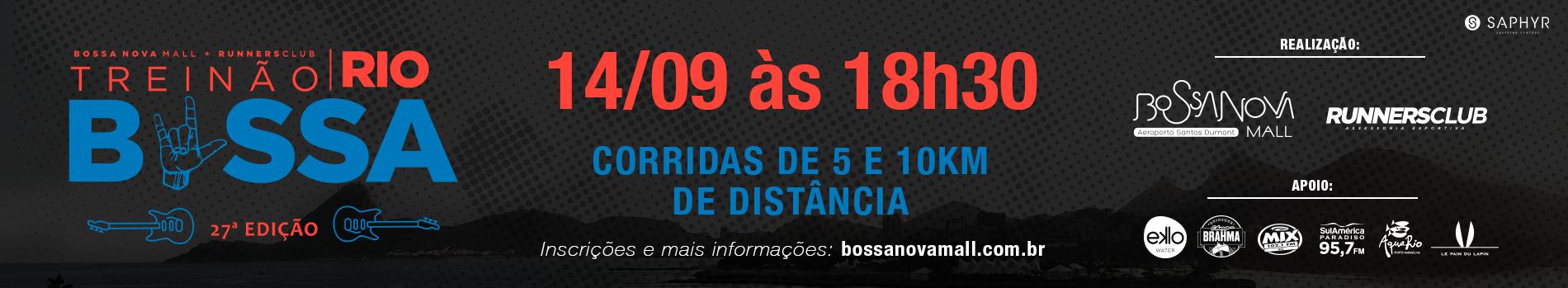 TREINÃO BOSSA - EDIÇÃO ESPECIAL ROCK