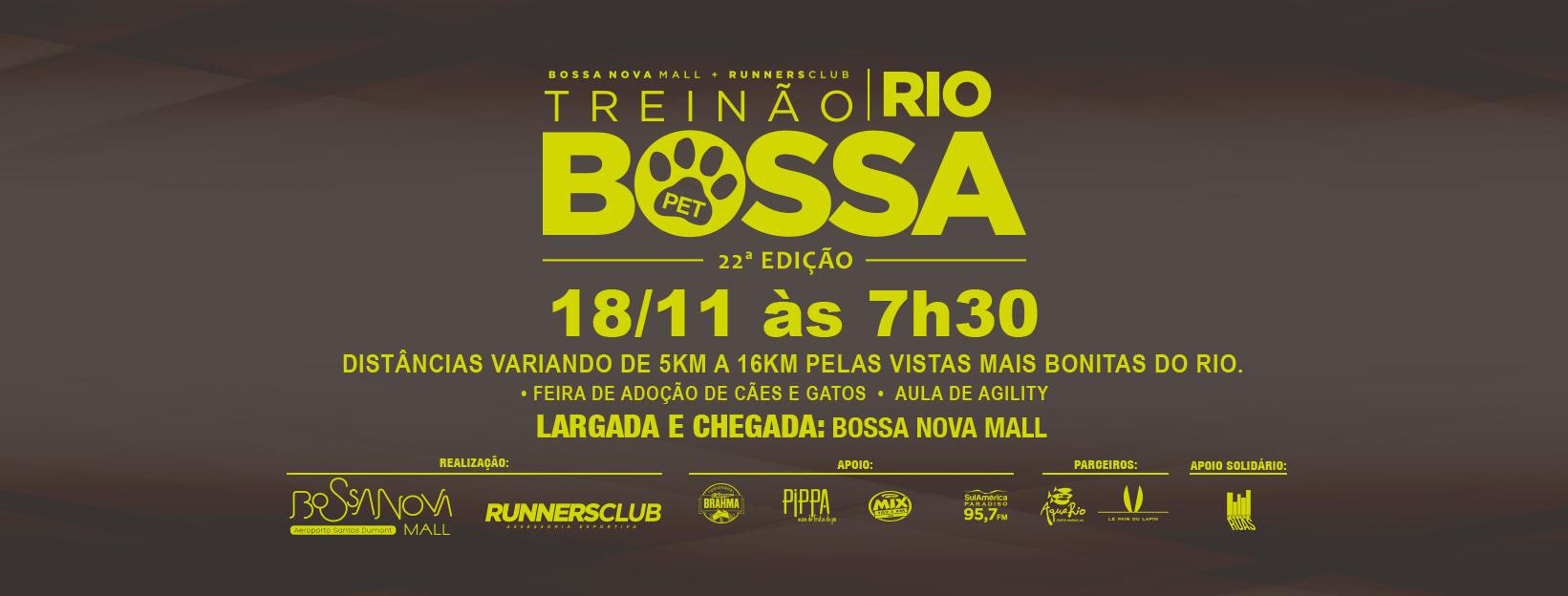 TREINÃO + Treinão PEt- RIO DE JANEIRO RJ - NOVEMBRO
