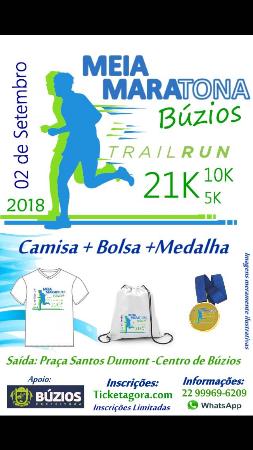 MEIA MARATONA DE BÚZIOS 2018 - TRAIL RUN