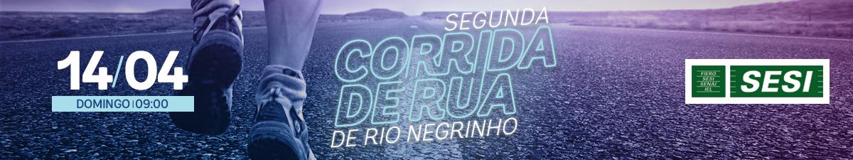 2ª CORRIDA DE RUA DE RIO NEGRINHO