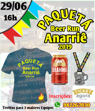 PAQUETA BEER RUN ANARRIE