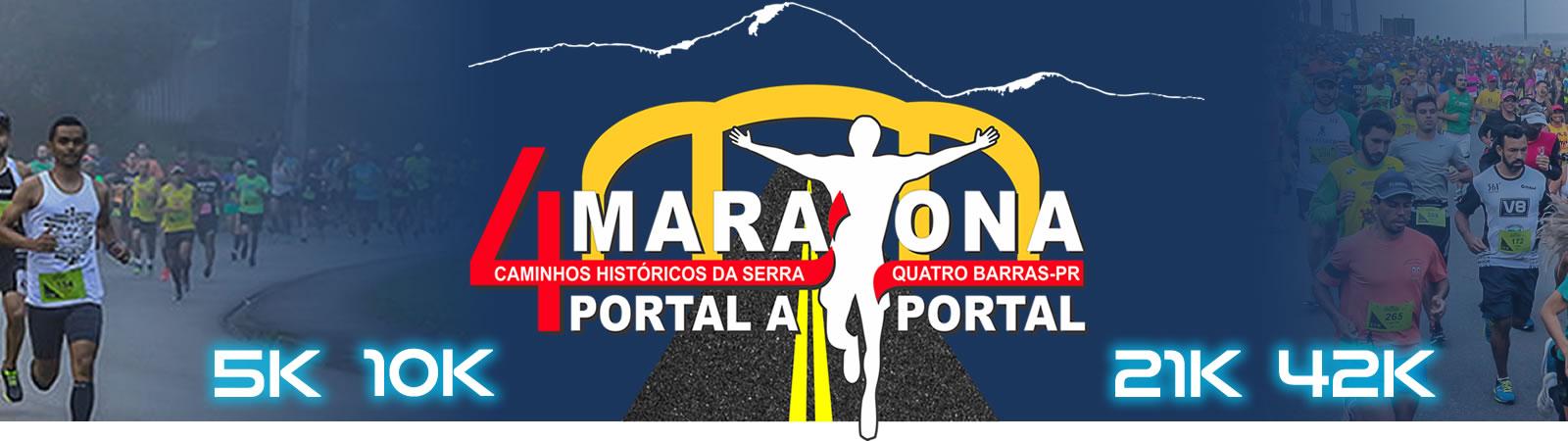 4ª MARATONA PORTAL A PORTAL - Caminhos históricos da serra