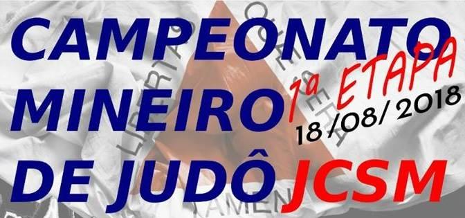 1° FASE DO CAMPEONATO MINEIRO DE JUDÔ JCSM 2018 - Imagem de topo