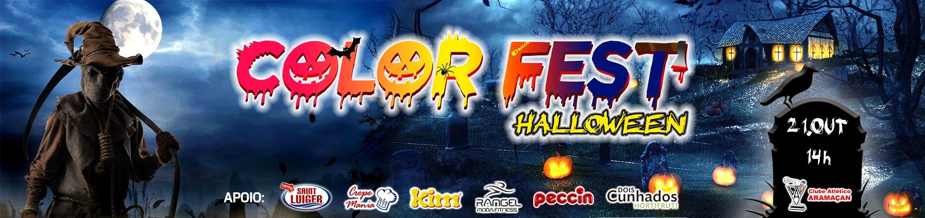 COLOR FEST® - HALLOWEEN - Imagem de topo