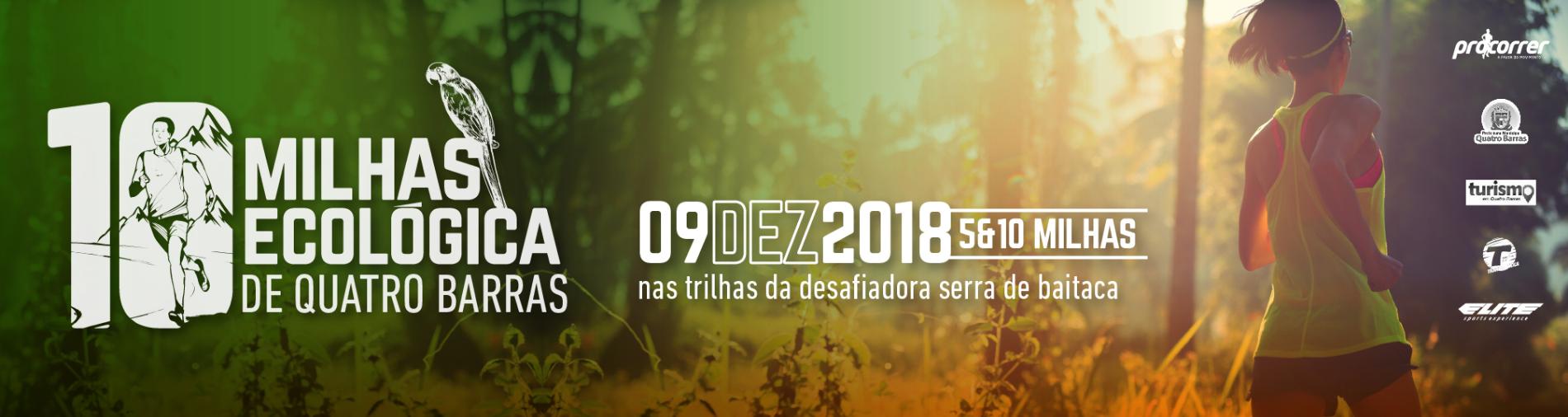 10 MILHAS ECOLÓGICA DE QUATRO BARRAS