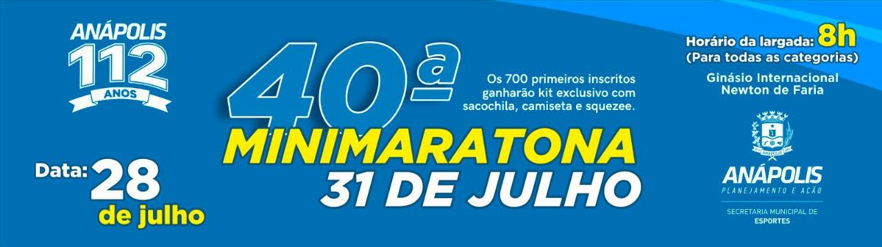 40ª MINI MARATONA 31 DE JULHO