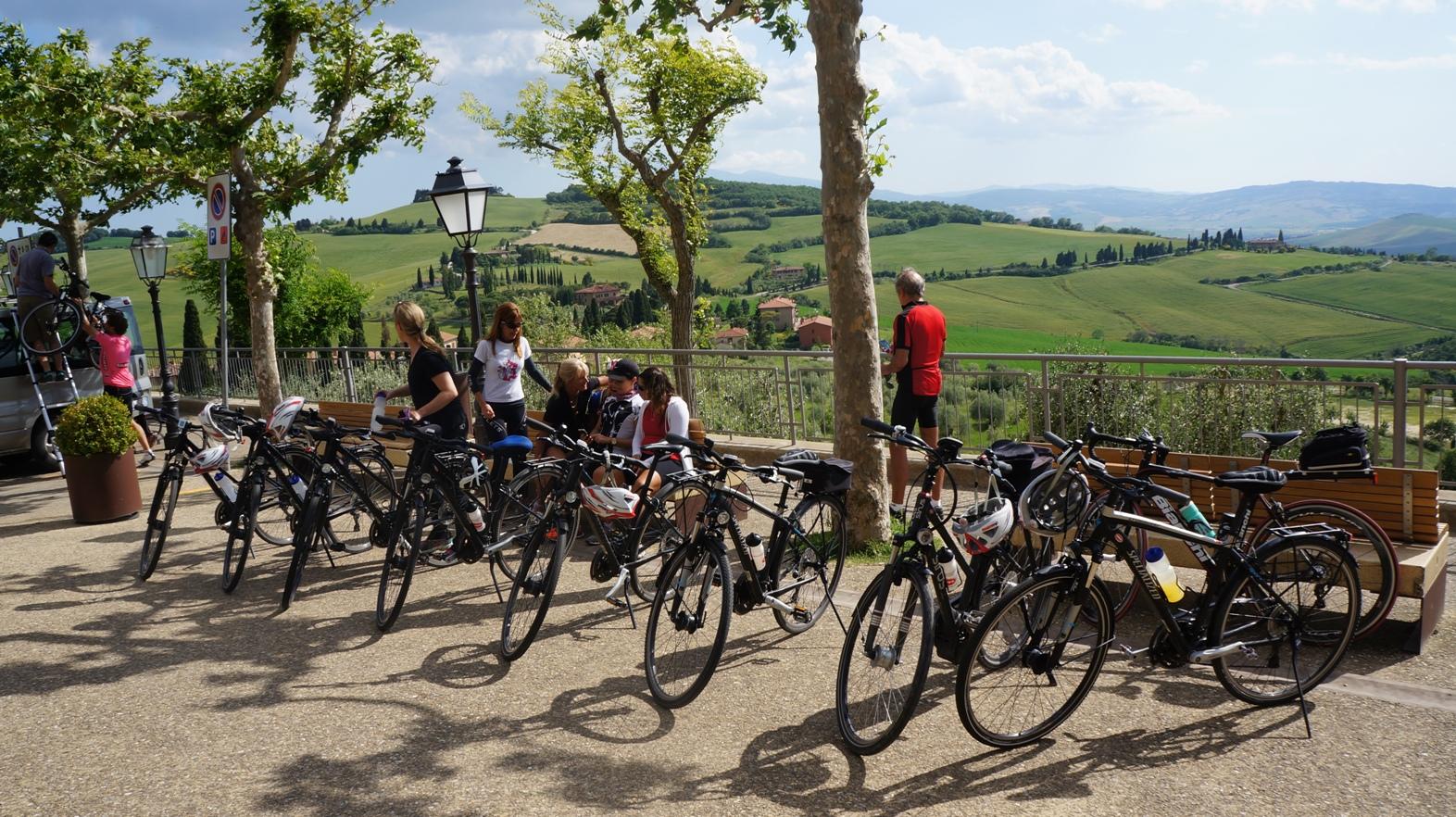 Grupos bike expedition na toscana