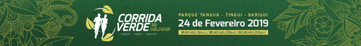 CORRIDA VERDE - DESAFIO 10 MILHAS - 2019