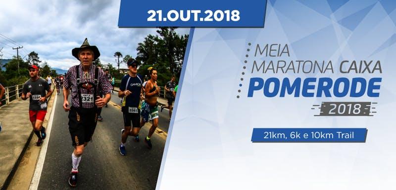 MEIA MARATONA DE POMERODE 2018 - Imagem de topo