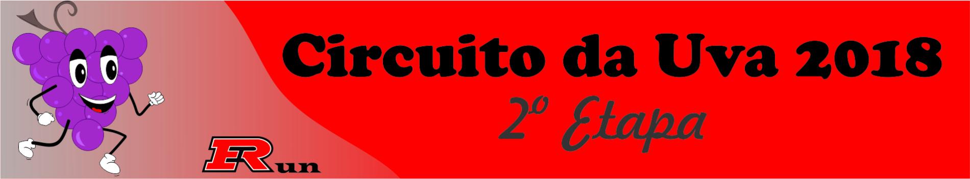 CIRCUITO DA UVA 2018 2ª ETAPA - Imagem de topo