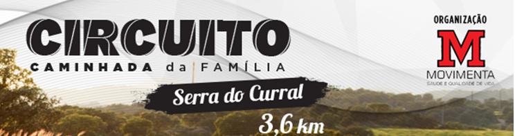 Caminhada da família e treino 7km - Serra do  curral