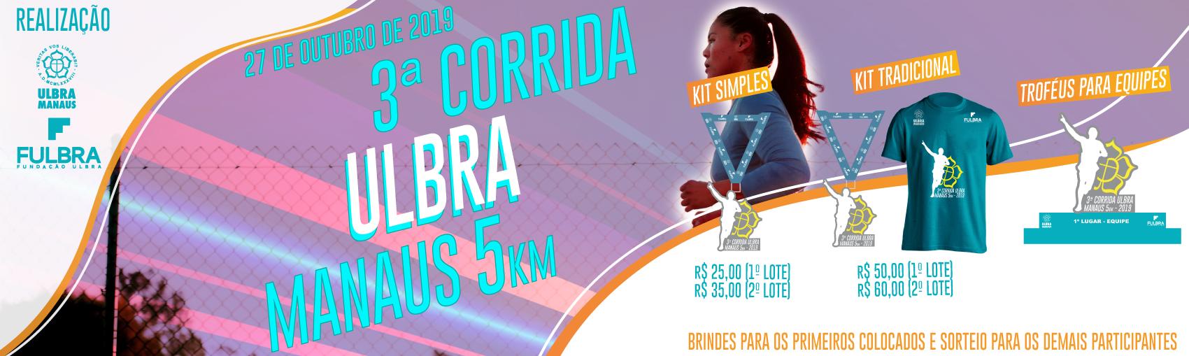 III CORRIDA ULBRA MANAUS - 2019