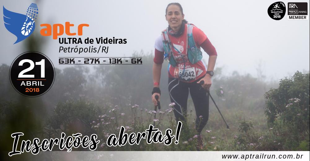 APTR ULTRA DE VIDEIRAS 2018 - Imagem de topo